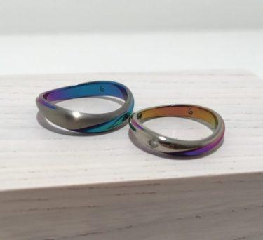 人と被らないガンガの結婚指輪