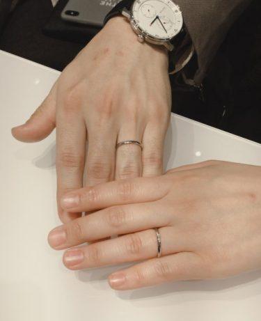 【俄の結婚指輪】「ことのは」をご成約 燕市・加茂市R様・M様