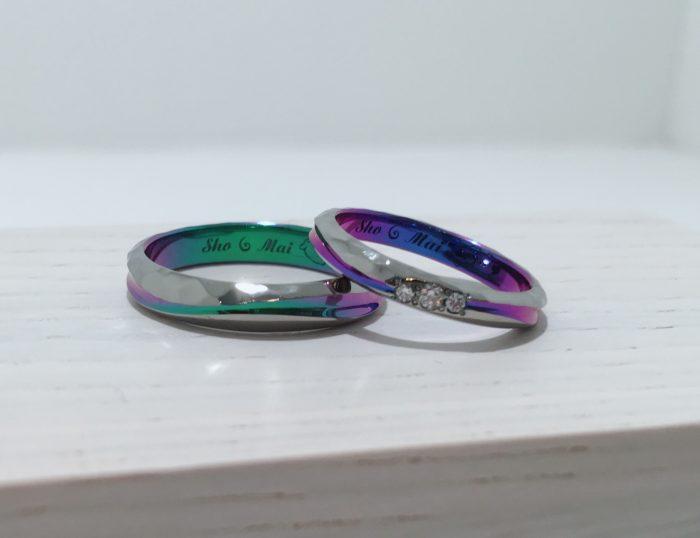 SORAオーダー会の結婚指輪