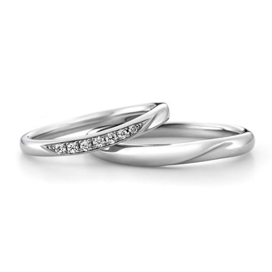 ラザールダイヤモンド 結婚指輪 カシオペア