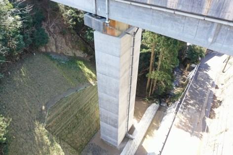水の澗橋 耐震補強工