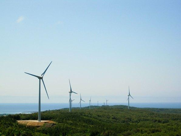 富来風力発電所
