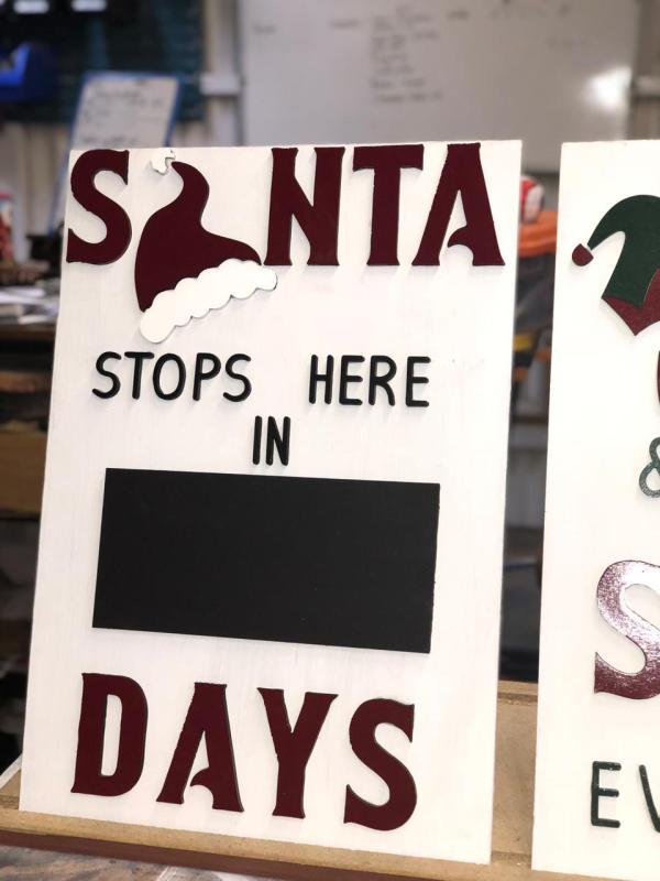 Santas stop here in