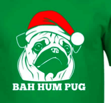 bah Humpug red hat