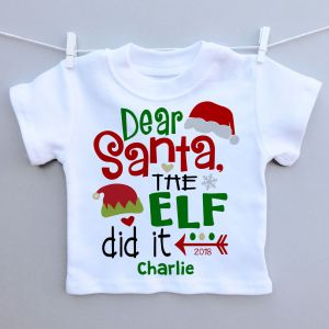 Dear Santa Kids T