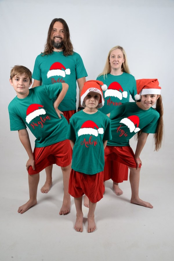 Santa Hats Jammies