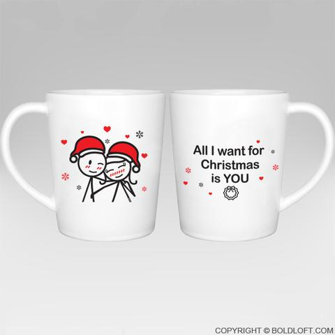 Wrap Mug I want you