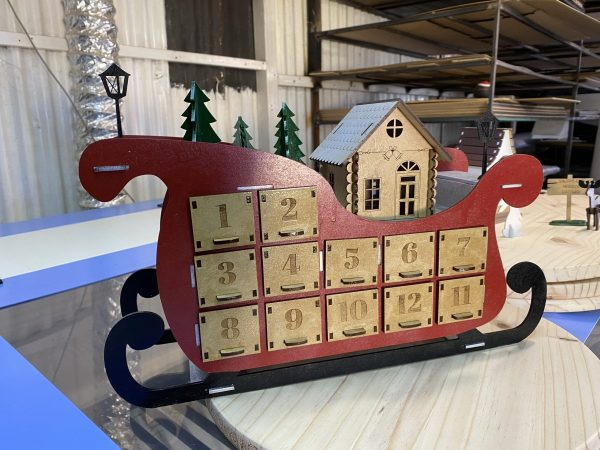 Sleigh Painted