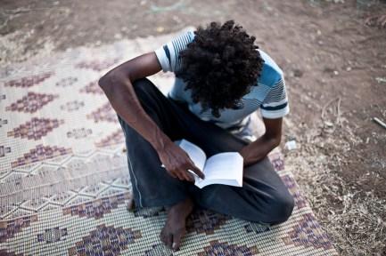 Refugee in South Tel-Aviv