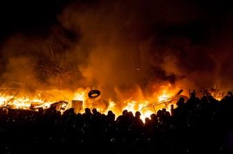 Burning Maydan, Kiev 18.02.2014