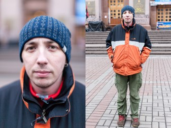 40) Basil, 30, guide, teacher of geography, Ivano-Frankivsk, no children