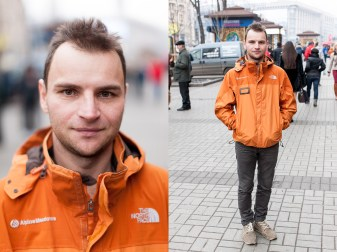 49) Misha, 33, an industrial climber, Kyiv, 1 child