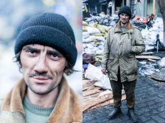 56) Anton, 40, street cleaner, Borispol, no children