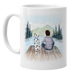 Dalmatian Dad Father's Day Mug