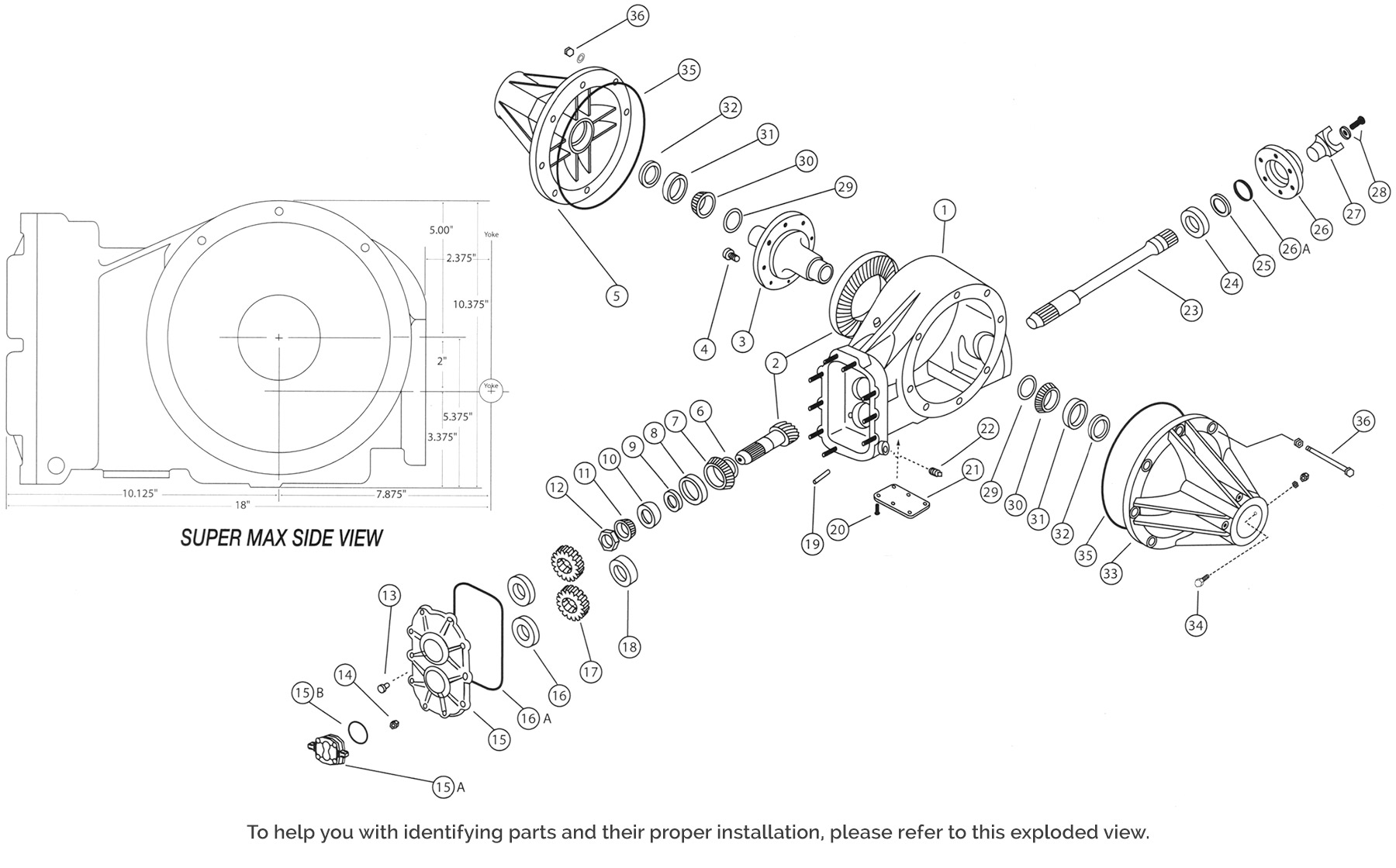Supermax Replacement Parts