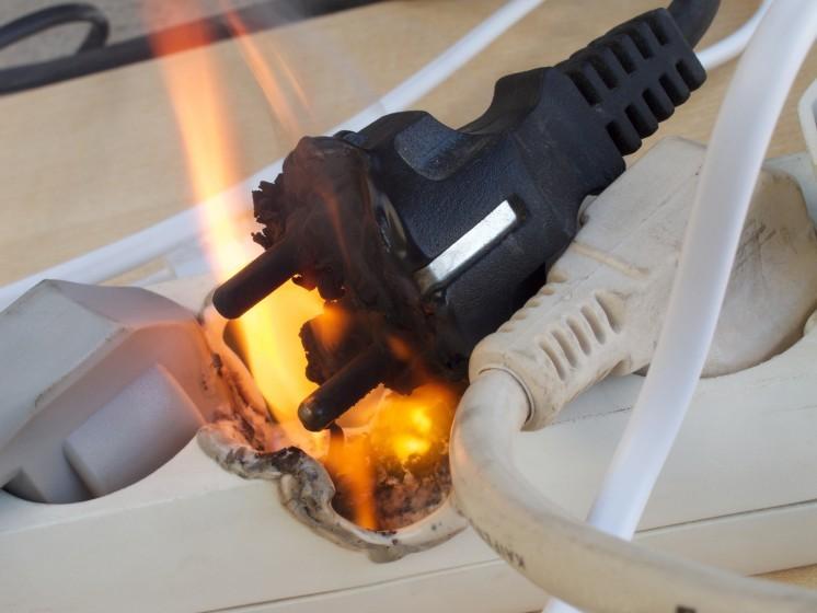 A tüzek negyede elektromos tűz