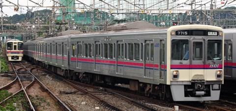 【京王】7000系7715F試運転