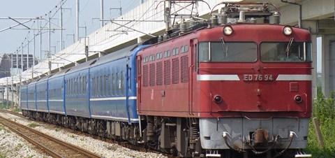【JR九】「リバイバル富士」客車返却
