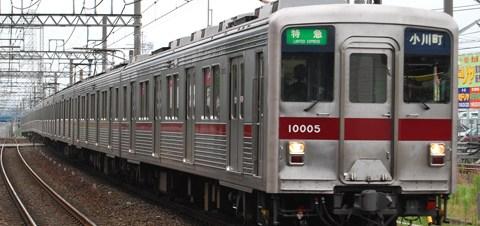 【東武】東上線での特急運転終了