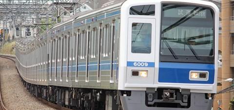 【西武】6109F副都心線試運転