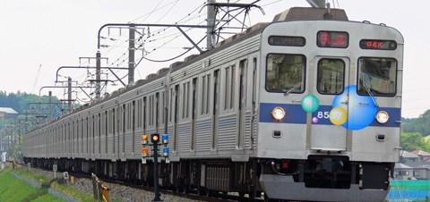 【東急】8500系8637F長津田工場入場