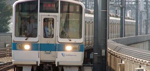 【小田急】1000形1091F 試運転