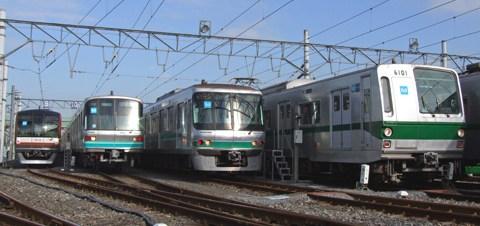 【メトロ】綾瀬車両基地公開