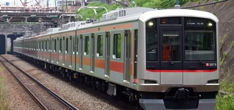 【東急】東横線色5000系5119F試運転