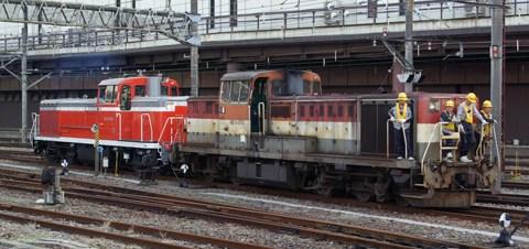 【JR貨】DE10-1073大宮車両所入場