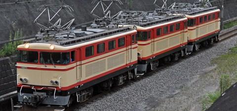 【西武】E31+E34+E32武蔵丘へ回送