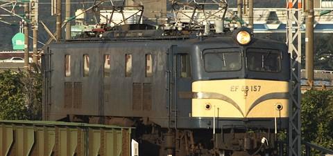 【JR海】EF58 157廃車回送