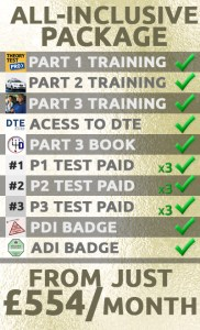 driving instructor training package all inclusive