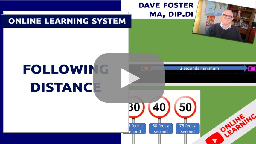 following distance video