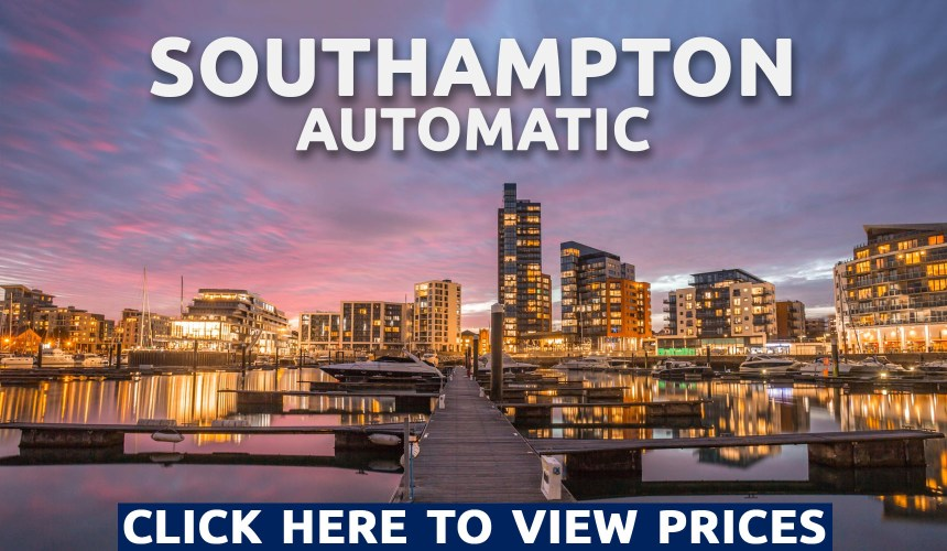 automatic driving lessons in southampton