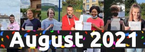 august 2021 driving test passes