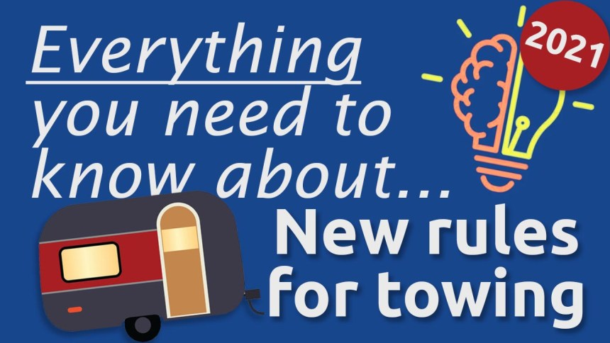 new rules for towing