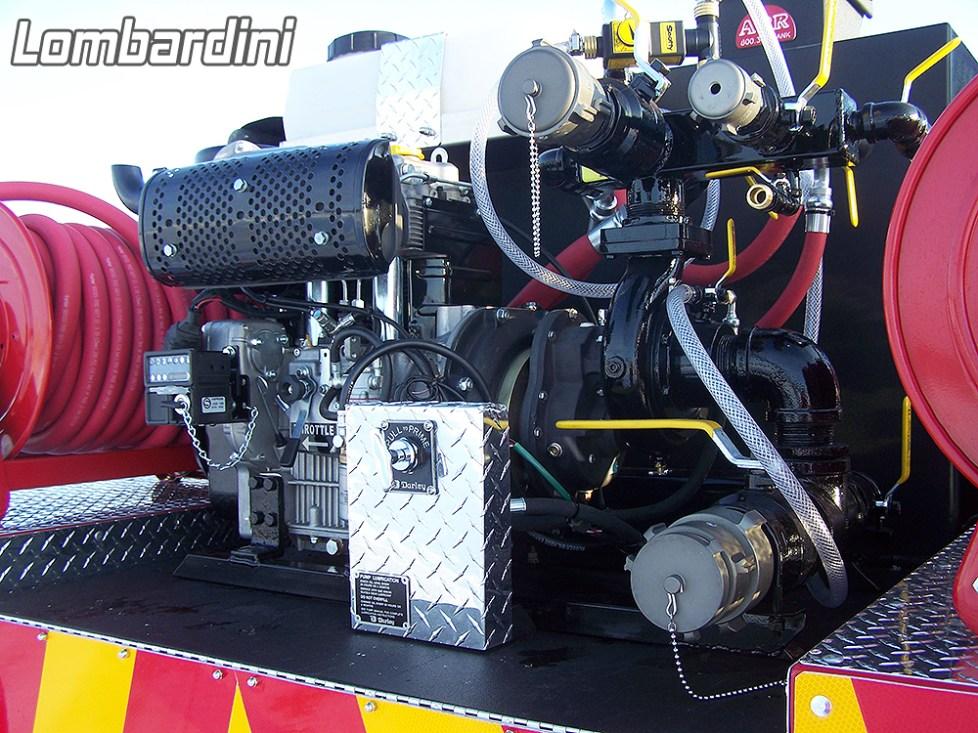 Lombardini- pump