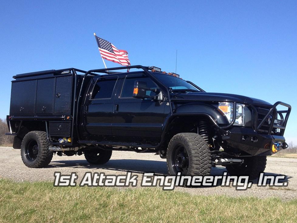 front passenger corner- Chuck's Truck
