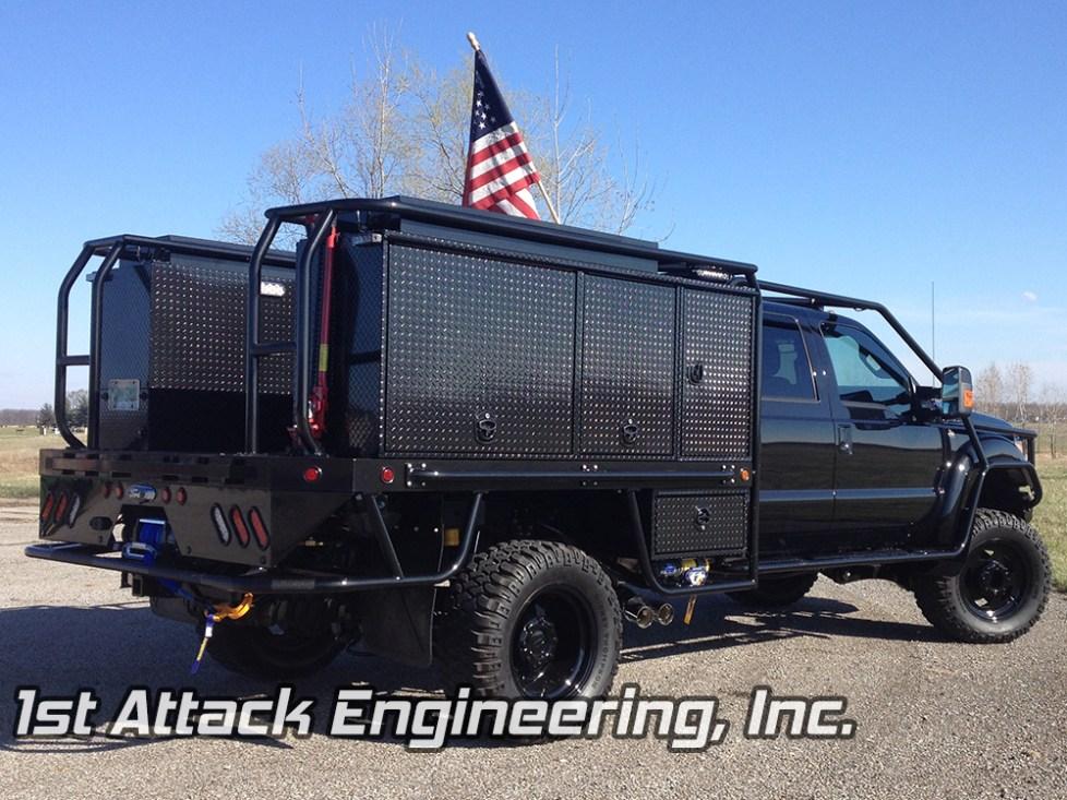 passenger, back angle- Chuck's Truck