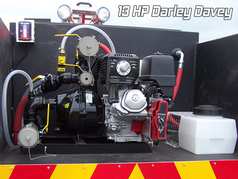 13 HP Darley Davey Pump