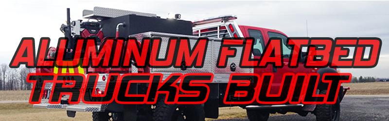 ALUMINUM FLATBED trucks built btn(2)