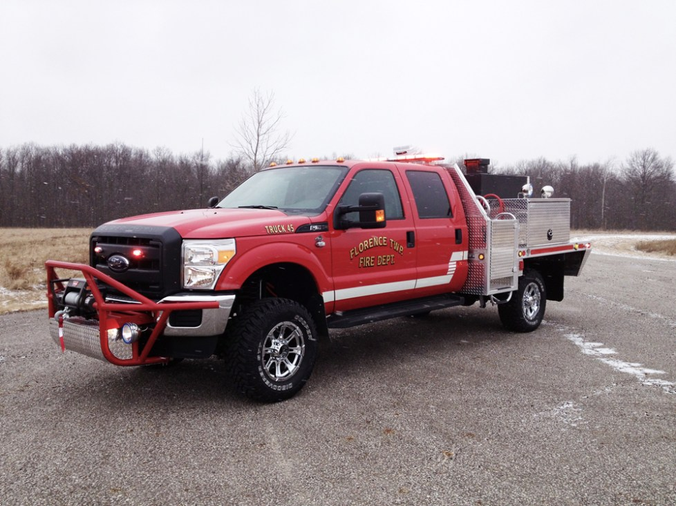 driver side angle of front- Florence Township Fire Department