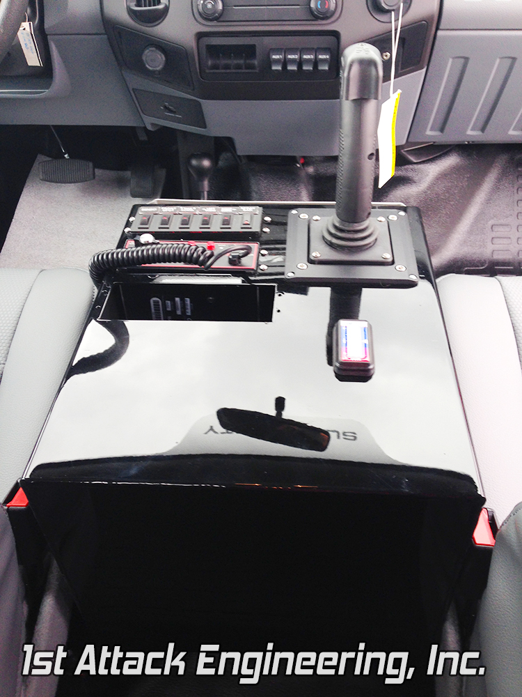 Large Center Console- Fort AP Forestry Division 118