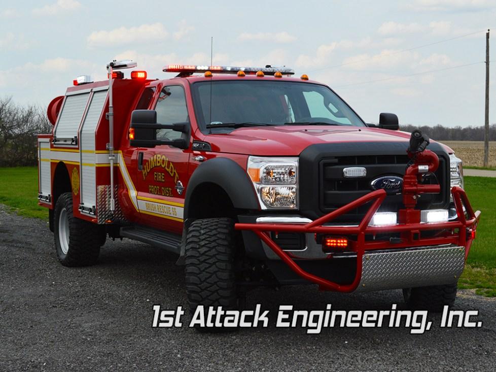 front passenger- Humbolt Fire Department