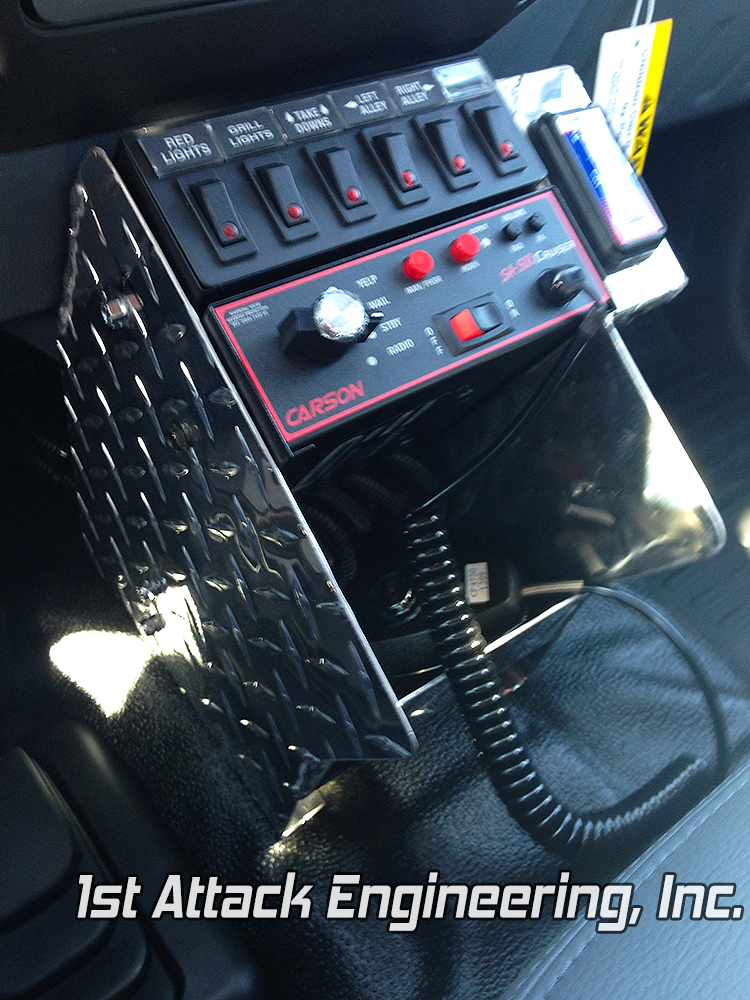 Small center console- Fort Harrison Fire Department