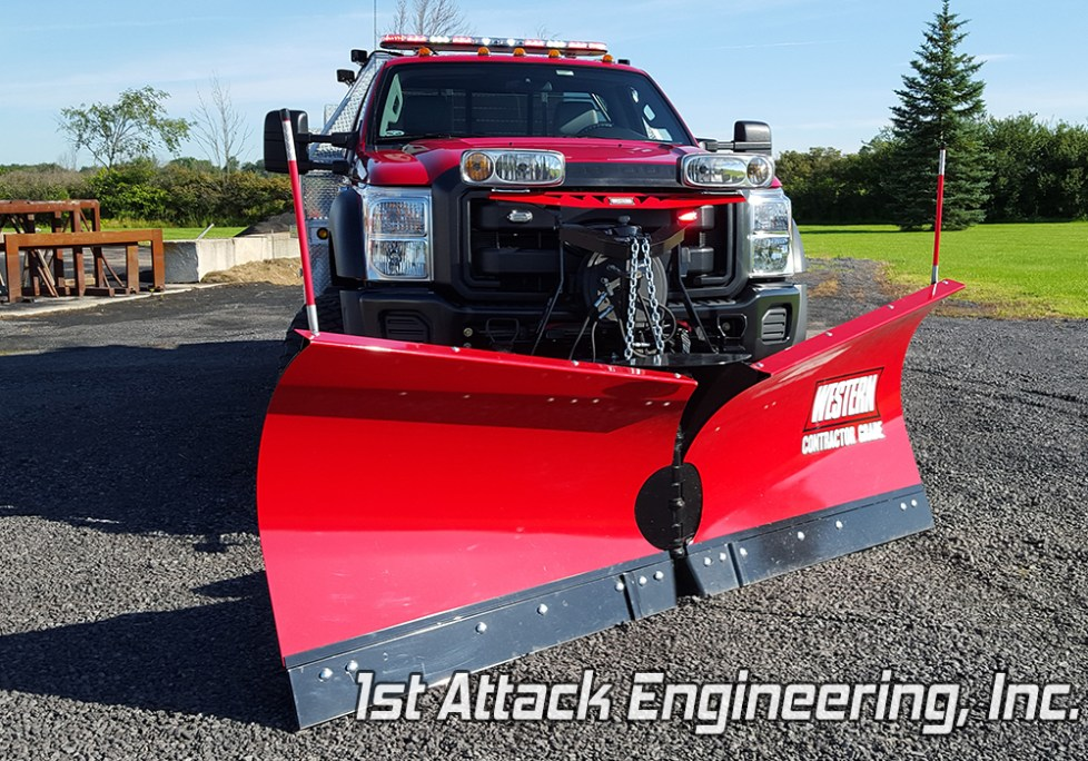 Removable Snowplow- Turkey Creek Fire Department