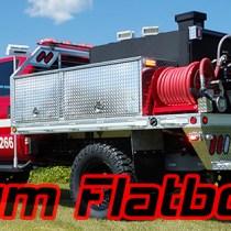 Woodburn Fire Department- Aluminum Flatbed