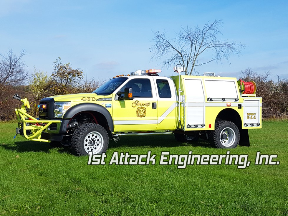 Greenup Fire Department off-road ready fire truck