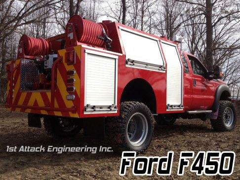 F450 with 1st Attack super single rims