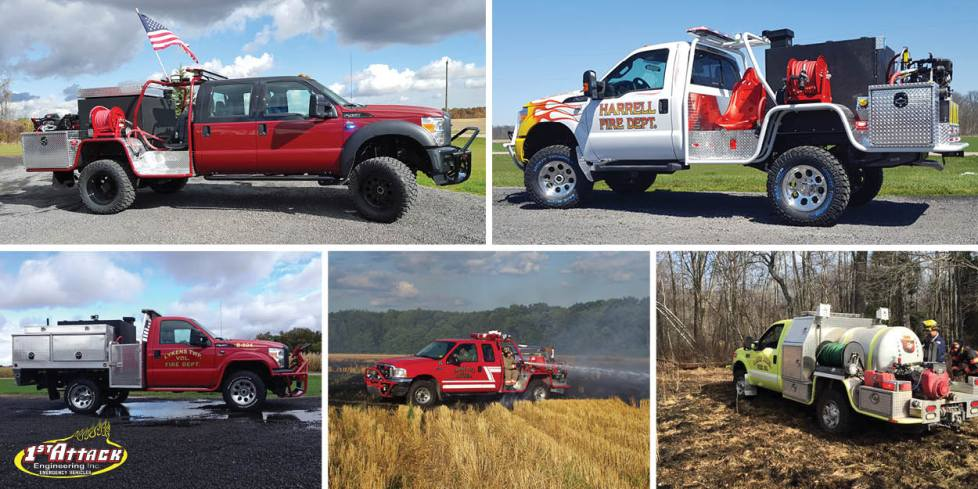 Off Road Brush Fire Trucks 1st Attack Engineering, Inc.